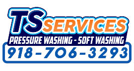 TS Services - Professional Exterior Cleaning Logo